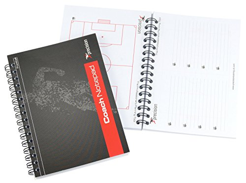 A5Fußball Trainer Notizblock–Match Day Coaches Notizblock Taktik Buch (Fußball-notizblock)