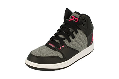 Nike Damen 828245-019 Fitnessschuhe, Grau (Cool Grey/Vivid Pink-Black-White), 38.5 EU (Pink And Black Jordans Schuhe)