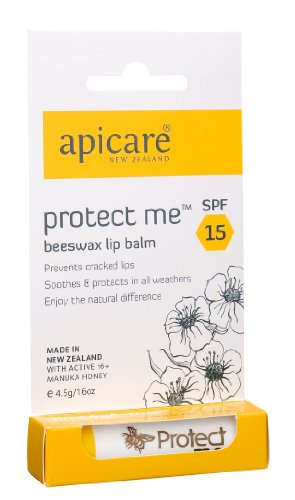 Apicare Protect Me Beeswax Lipbalm with SPF 4.5g (japan import)