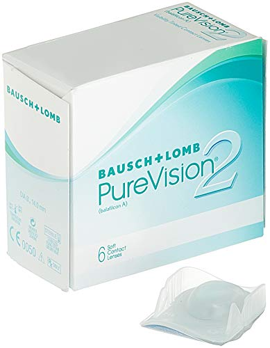 PureVision2 HD Monatslinsen weich, 6 Stck / BC 8.60 mm / DIA 14.00 mm / -01.25 Dioptrien