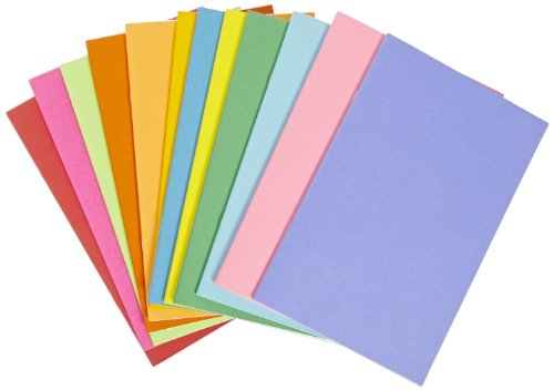 HYGLOSS Rainbow Bright 32Seite Bücher–51/2x 81/5,1cm, 12Stück, verschiedene Farben