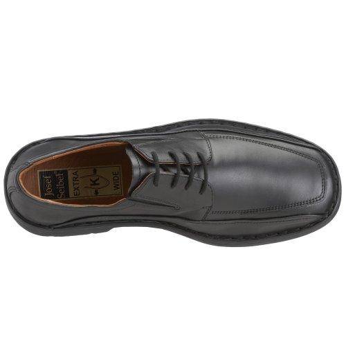 Josef Seibel Schuhfabrik GmbH 38266 23 330 Brian, Chaussures à lacets homme Noir