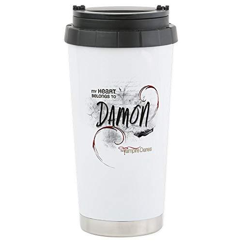 CafePress-The Vampire Diaries Damon Travel Mug-Thermobecher Edelstahl, isoliert 16Oz Coffee Tumbler