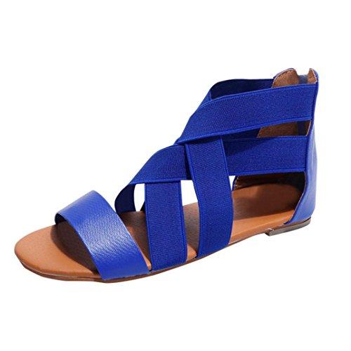 S&H-NEEDRA Damen Casual Sandalen Flip Flop Sommerschuhe Gürtel Elegant Sandalen