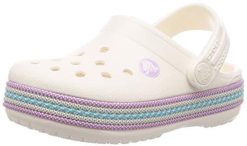 Crocs Crocband Mädchen (crocs Kinder Sandale Crocband Sport Cord Clog K 205899 Oyster 36-37)