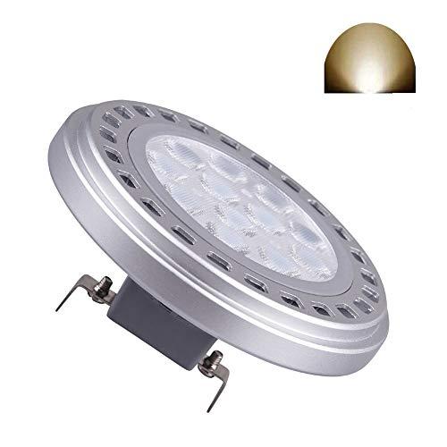 Led AR111 Birne G53 Scheinwerfer 15W 30 ° Abstrahlwinkel Tageslicht 4000k SMD 15 LEDs Eingangs AC DC 12V ES111 QR Spot Reflektor Schienenleuchten 1200Lm 100w Halogenlampe Ersatz