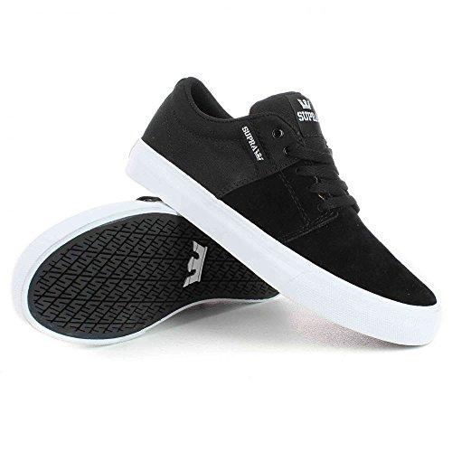 Supra - Ellington, Sneaker Basse Uomo Noir / Blanc