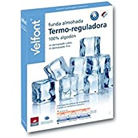 VELAMEN - Funda de almohada Termo-Reguladora Velfont 80
