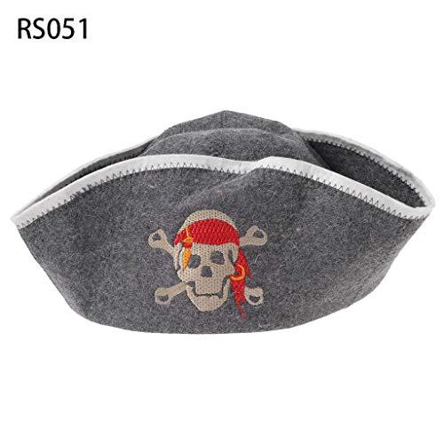 GROOMY Cappello da Sauna in Feltro di Lana Anti Calore Cappello Russo Banya per Protezione Testa Bagno