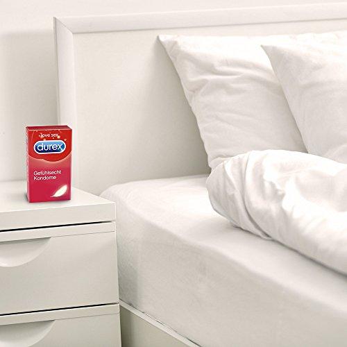 Durex Gefühlsecht Kondome, hauchzart für intensives Empfinden, 16er Pack (1 x 16 Stück) - 7