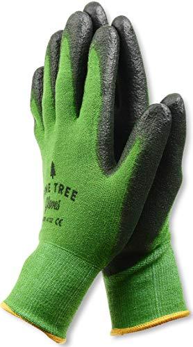 Pine Tree Tools Guantes de trabajo de bambú para mujeres y hombres. Los mejores guantes de trabajo con sensibilidad máxima para trabajos de jardinería, pesca, bricolaje y construcción - S, M, L, XL (1
