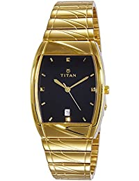 Titan Karishma Analog Black Dial Men's Watch - NE9315YM03