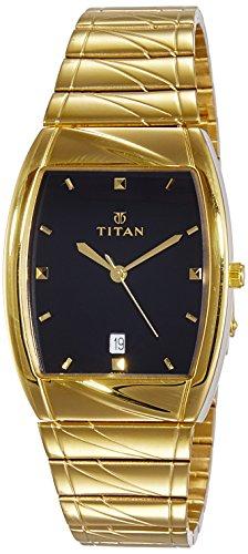 Titan Karishma Analog Black Dial Men's Watch - NE9315YM03 image