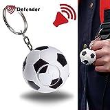 Defender Fußball Shaped Persönliche Sicherheit Alarm-125Dezibel Sirene.