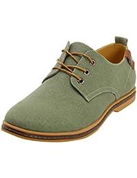 Skechers 63617 Crucifères Odeur Pazen - Chaussures Hommes, Vert, Taille 40