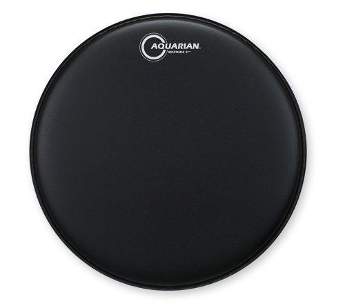 aquarian-response-2-14-inch-texture-coated-drum-head-black