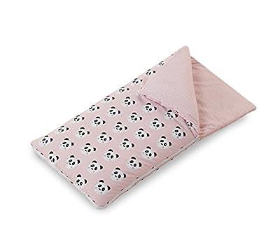 Funny Baby Codream - Saco-colcha minicuna colecho, color pandy rosa