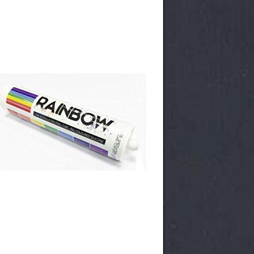 Rainbow RAL farbig Silikone Schiefergrau Abdichten Mastix Dichtstoff RAL 7015 300ml