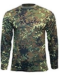 Mil-Tec T-Shirt à manches longues pour homme Motif Camouflage