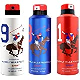 AmazedDeal Beverly Hills Polo Club One No.9 , One No.8 & One No.1 Deodorant For Men(Pack Of 3) Combo Pack