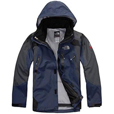 HHY Sci alpinismo uomo abbigliamento sportivo all'aperto inverno indossare due