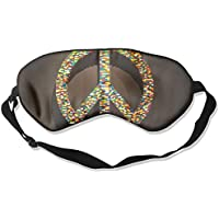 Peace Sign 99% Eyeshade Blinders Sleeping Eye Patch Eye Mask Blindfold For Travel Insomnia Meditation preisvergleich bei billige-tabletten.eu