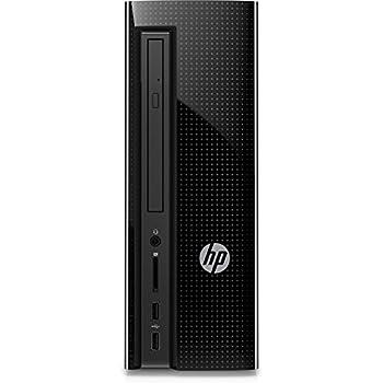 HP Slimline (260 A151NG) Ordenador de sobremesa - (AMD Quad-Core A8 7410 APU, 8GB RAM, 2TB HDD, AMD Radeon R5, Windows 10 Home 64 – Negro
