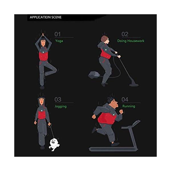 NHEIMA Pantaloni Sauna Dimagranti, Leggings Anticellulite Donna Fitness, Leggings Termici Vita Alta in NANOTECHNOLOGIE… 5 spesavip
