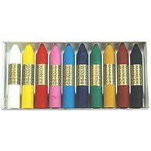 Manley MNC00033 - Pack de 10 ceras, multicolor