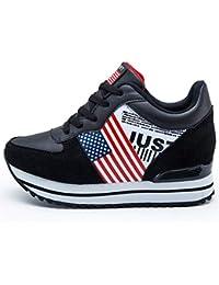 Mocasines Amazon Zapatos Negro es 35 Complementos Y TxqxBwCz
