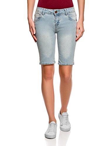 oodji Ultra Women's Long Denim Shorts