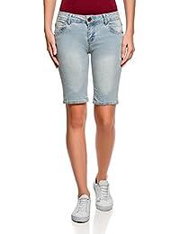 oodji Ultra Femme Short Long en Jean