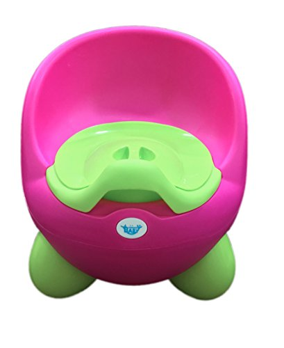 Mommas Baby Toddler Potty seat Kids Toilet training potty Chair for Children - With Removable Bowl & High Back Support- Secure Non-Slip Surface (Pink)  available at amazon for Rs.995