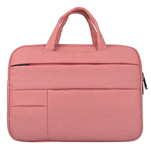 ZHAOLV Laptoptasche Laptop Hülle Tasche for 15 '' 12 '' 13 '' Cover Notebook Handtasche (Color : Pink, Size : 14.1 15.4 inch) -