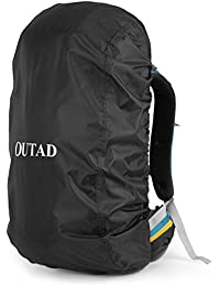 Outdoor Unisex Waterproof OUTAD Backpack Rain Resistant Cover Durable Hiking Camping Backpack Rucksack Bag For...