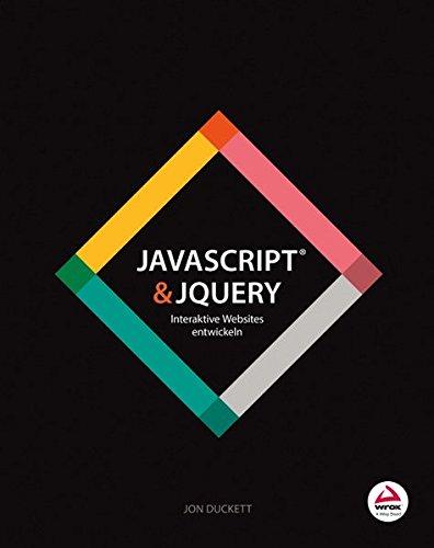 JavaScript & jQuery: Interaktive Websites entwickeln Buch-Cover
