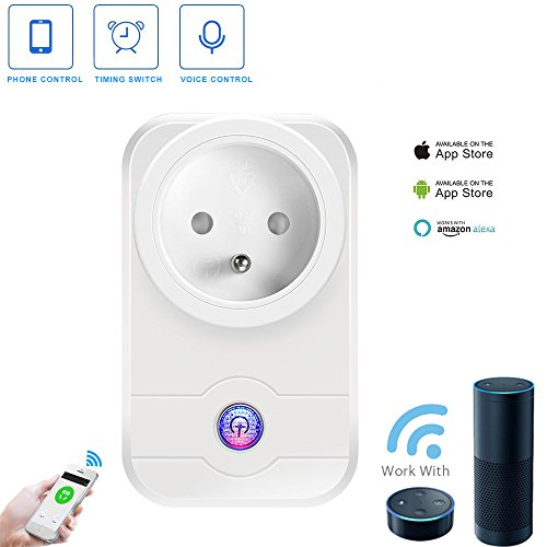 Prise Intelligente – Compatible avec Alexa Echo/ Google Home