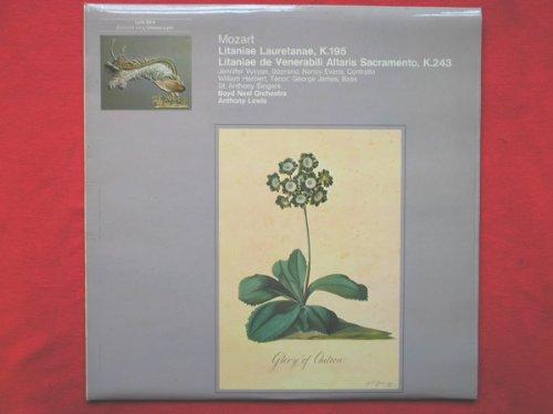 Mozart: Litaniae Lauretanae, K. 195 & Litaniae de Venerabili Altaris Sacramento Es-dur KV 243