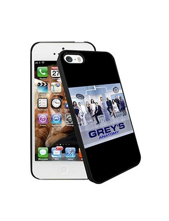 Iphone 5s Coque Case Grey's Anatomy for Man Woman Grey's Anatomy Iphone 5 Case Coque TV Show Slim TPU Grey's Anatomy Coque Phone Cover for Iphone 5/5s/SE, Coques iphone
