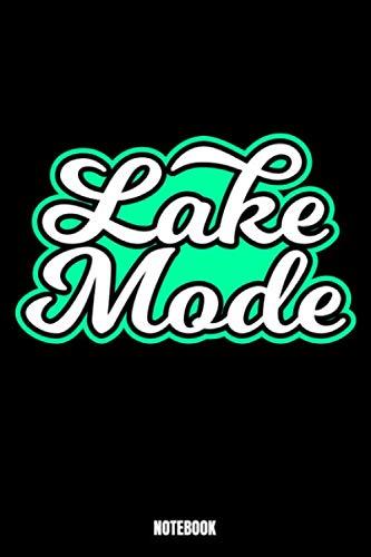 Lake Mode Notebook: Fishing Notizbuch: Notizbuch A5 punktierte 110 Seiten, Notizheft / Tagebuch / Reise Journal, perfektes Geschenk für Sie, Ihre ... Dieses Notizbuch wird sicherlich die