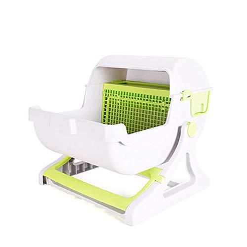 *SELCNG Selccng Ultra Selbstreinigende Katzentoilette mit Kapuze, Mülleimer, hygienisch, geruchlos*