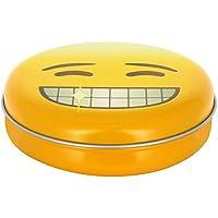 Promobo Aufbewahrungsbox Pillendose leer Westentaschenformat Décor Piktogramm Emoji Dent ECLATANTE preisvergleich bei billige-tabletten.eu