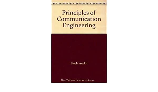 Principles Of Communication Engineering By Anokh Singh Pdf
