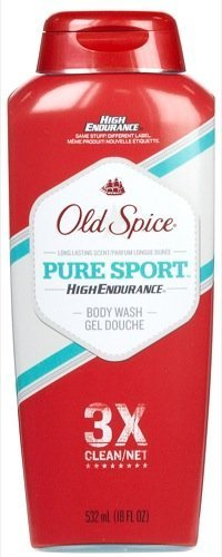 Old Spice High Endurance Body Wash, Pure Sport, 18 oz by Old Spice Olds Spice Body Wash
