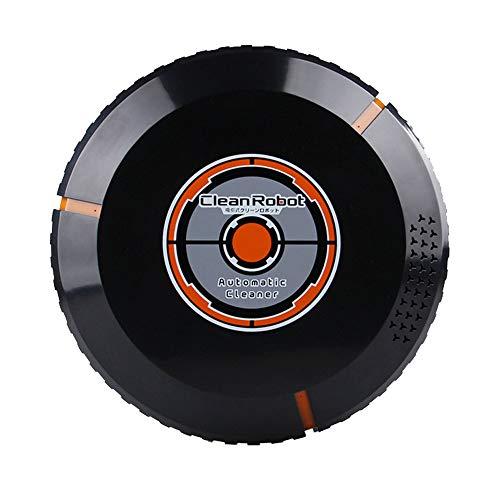 Chenang Automatik Staubsauger, Wiederaufladbar Smart Clean Roboter,Starker Sog Saugroboter,hohe Reinigungsleistung keine Verhedderungen und mit Dirt Detect (schwarz)