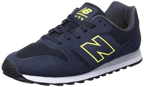 Nuovo Equilibrio Herren 486611 60 Sneaker Blau (blu / Giallo)