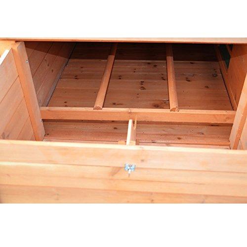 Hühnerstall Hühner Käfig Legenest aus Holz ca. 149 x 80 x 79 (BxHxT) - 5