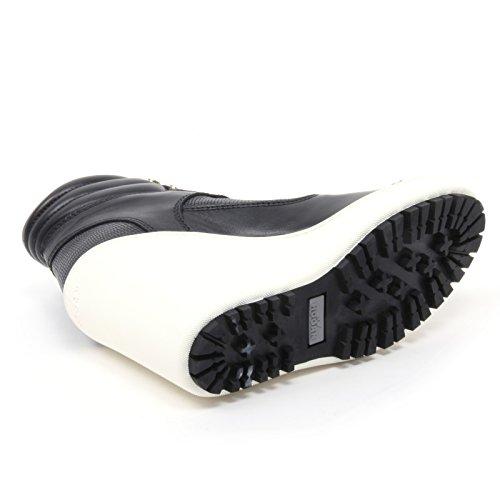 B4090 tronchetto donna HOGAN H249 scarpa stivaletto zeppa nero shoe boot woman Nero