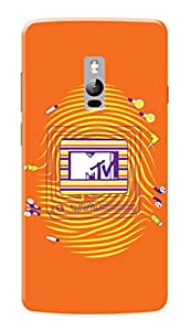 MTV Gone Case Mobile Cover for OnePlus 2