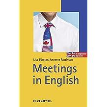 Meetings in English (Haufe TaschenGuide)